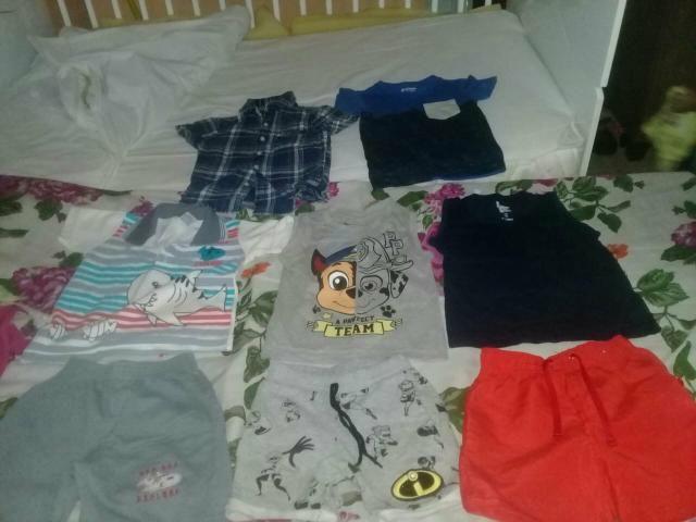 Lote de roupas Menino de 1 ano