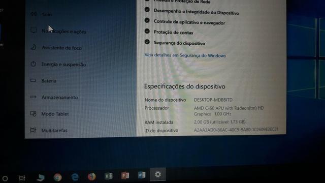 Netbook Aspire one Ótimo estado - Foto 5