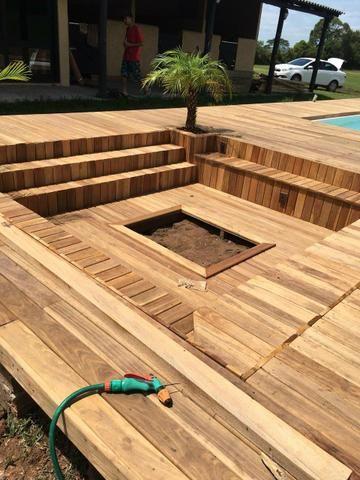 Construção civil/deck pergolado - Foto 5