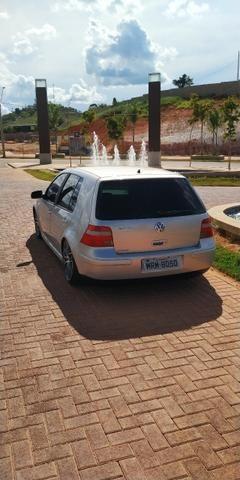 Vendo ou troco Golf 1.6 2000 Completo + Susp Ar + Legalizado - Foto 5