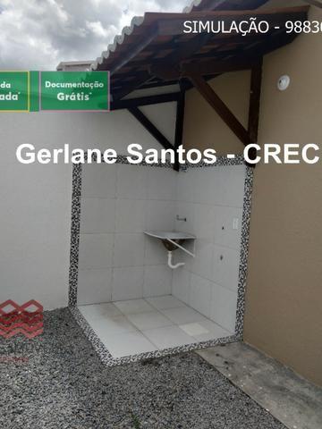 Escritura Grátis Casa 02 Quartos, 2 banheiros, 2 garagens - Foto 14