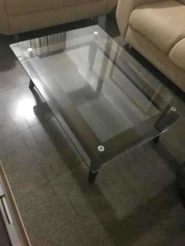 Mesa de Centro com Vidro - Foto 2