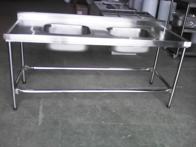 Mesa/pia com duas cubas(em estoque)fabricação própria!! - Foto 2