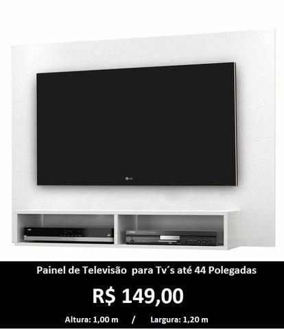 Painel de Televisão (2 Cores Disponíveis) Entrega Grátis - Foto 2