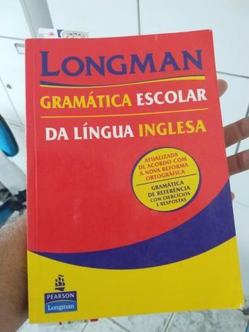 Livro de Inglês Longman - Gramática escolar da língua inglesa