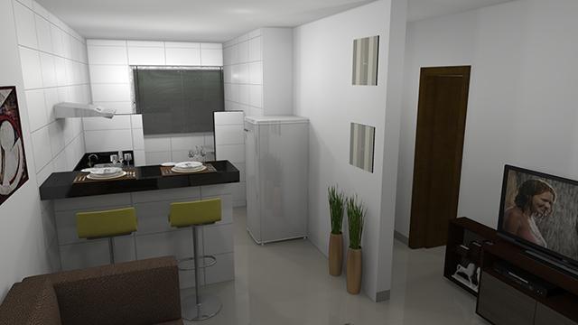 Apartamento à venda com 2 dormitórios em Jardim candelaria, Divinopolis cod:11443