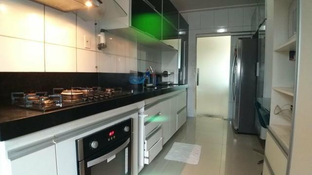 MS - Apartamento com 3 suítes + porcelanato + varanda
