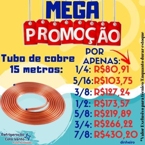 Tubo De Cobre 5/16 Panqueca 15 Metros - Foto 2
