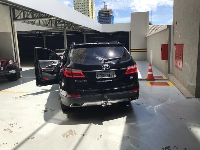 Vendo Hyundai Grande Santa Fé - Foto 4