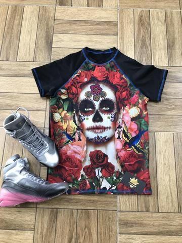 Camisas Compressão masculinas e femininas - Foto 2