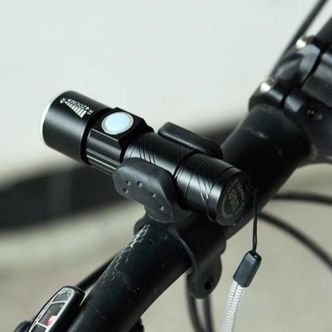 Lanterna Recarregável p/ Guidão Bike Resistente Água + Suporte