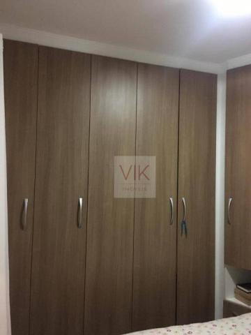 Apartamento com 3 dormitórios à venda, 65 m² por r$ 259.990,00 - jardim pacaembu - valinho - Foto 6