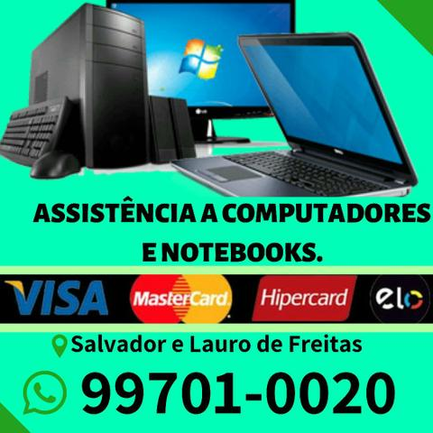 Assistência Computadores e Notebooks Técnico Profissional
