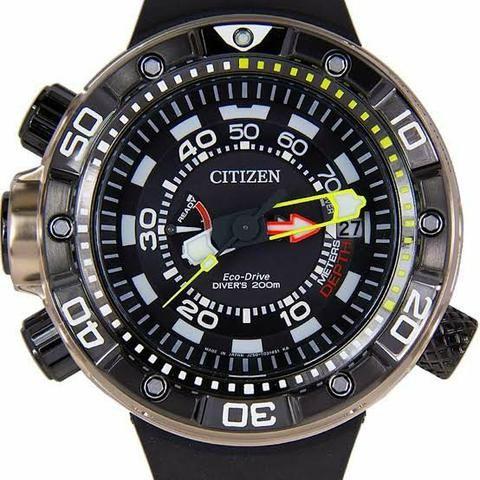 Relógio Citizen original Aqualand Eco-drive Bn2025-02e