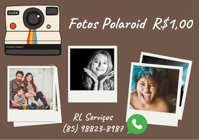 Fotos Polaroid R$1,00