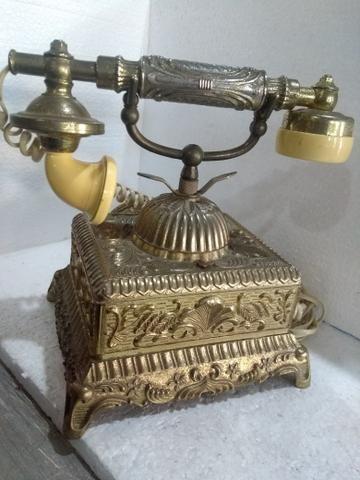 Telefone antigo Bronze - Foto 2
