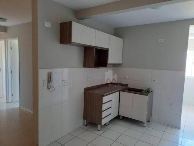 Apartamento para alugar com 3 quartos por R$ 1.100/mês + Taxas - Sítio Cercado - Curitiba/ - Foto 2