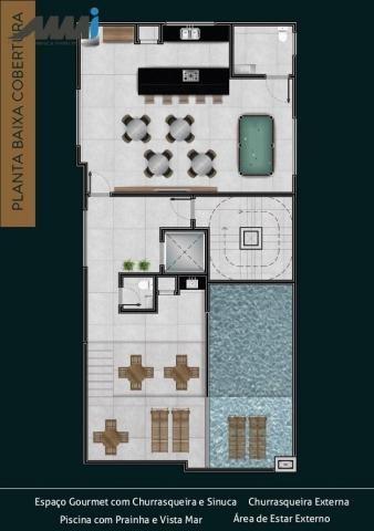 Premier residence apartamento frente mar com 03 suítes 123m em navegantes - Foto 7