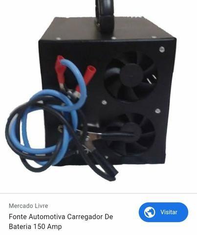 Vendo carregador de bateria 150 amprs