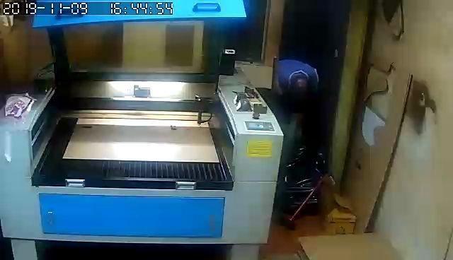 Máquina corte a laser 1000x800