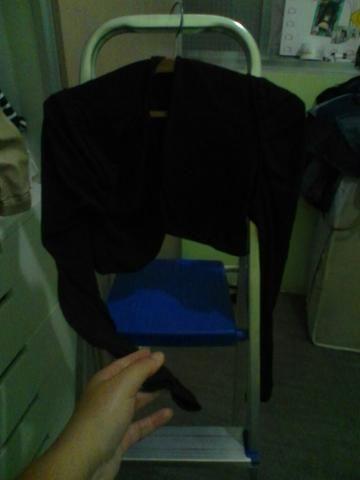 Bolero preto tamanho G