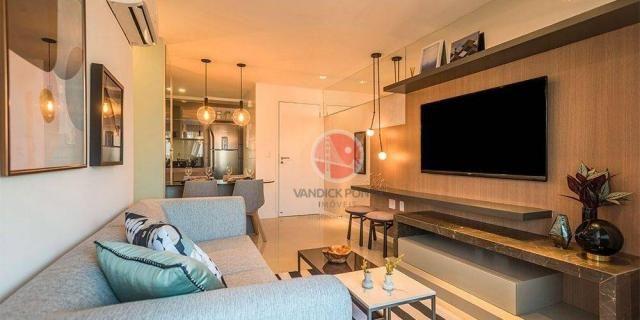 Apartamento com 3 dormitórios à venda, 79 m² por R$ 891.000,00 - Meireles - Fortaleza/CE - Foto 9
