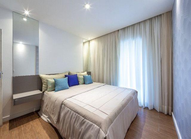Apartamento Flat no Guarujá, 55m2 , Varanda Gourmet, Mobiliado! - Foto 15