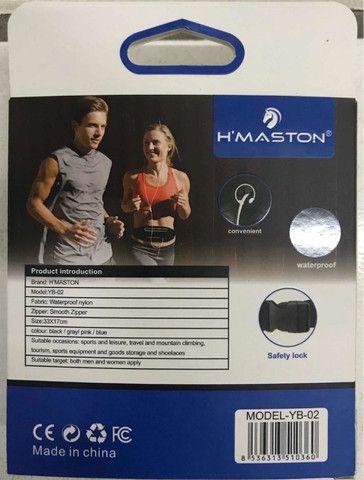 Pochete para atividade física Slim Pochete Bolsa De Cintura Porta Celular - Foto 3