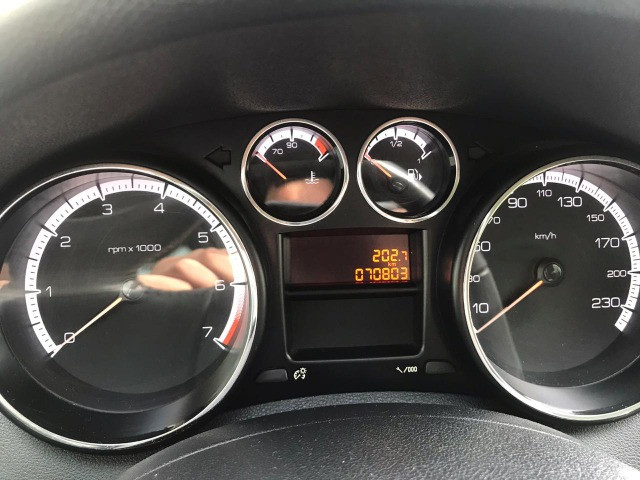 Peugeot 308 (troco por moto menor valor) - Foto 12
