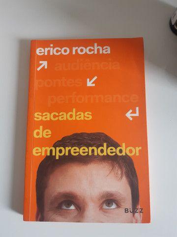 Livro Erico Rocha Sacada de empreendedor