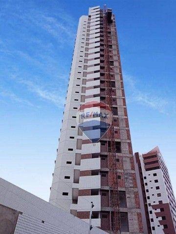 Excelente apartamento à venda, em fase de construção, com 110 m² e área de lazer completa