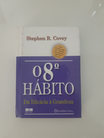 "Livro ""O 8 Hábito da Eficácia á Grandeza"""