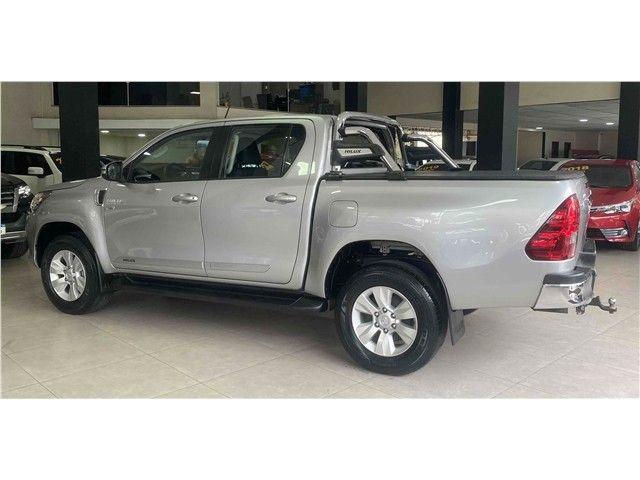 Toyota Hilux 2.7 Srv 4x2 Flex + Gnv Automático 2017!!! - Foto 6