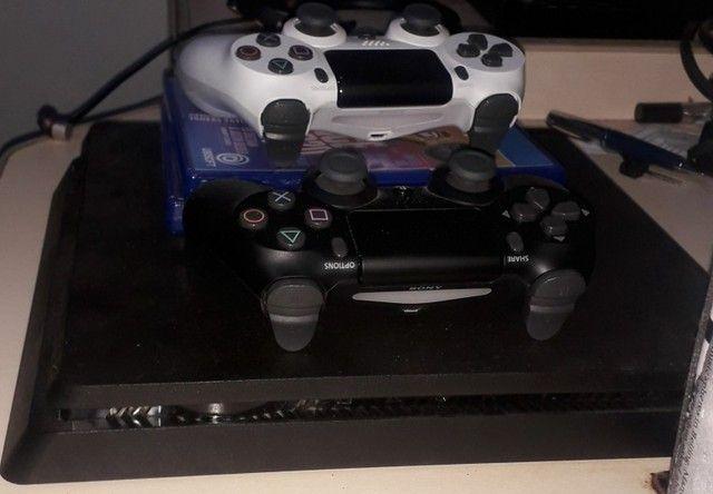 Vendo PS4 - 7 meses de uso - Foto 3