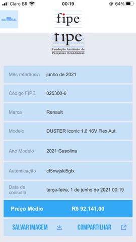 Duster Iconic Cvt 2021/ 5700 km - Foto 12