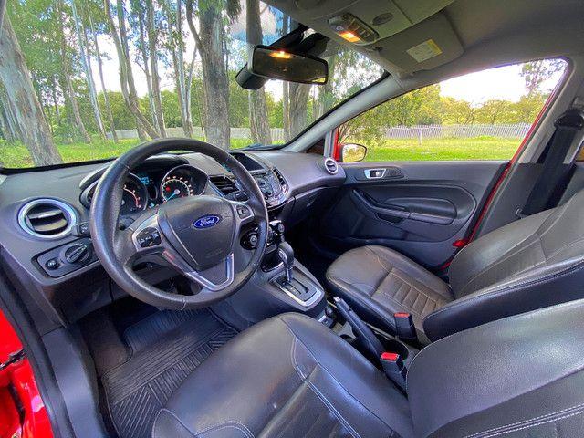 New Fiesta Titanium Baixa Km Placa I Zero - Onix Hb20 Focus Golf Polo - Foto 9