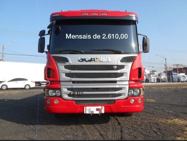 Scania P310 bitruck com carroceria e contrato de serviço(Lucas do Rio Verde) - Foto 2