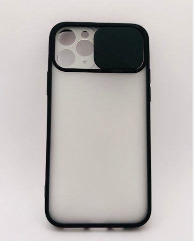 Case / Capinha Transparente iPhone 11 Pro com proteção de câmera (Aceito cartão)