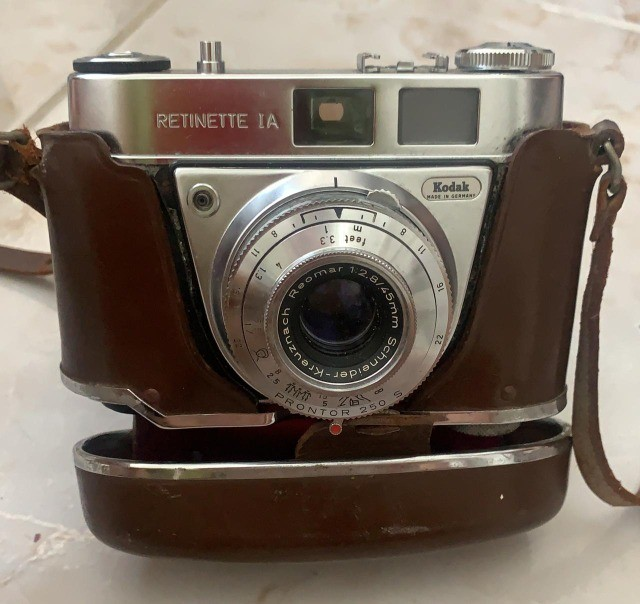 Maquina fotográfica antiga Kodak Retinette I-A made in Germany - Foto 2