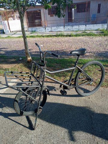 Bicicleta reforçada para carga - Foto 4