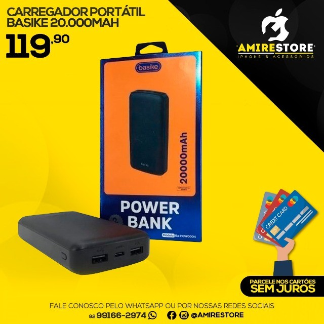 Carregador Power Bank - Foto 3