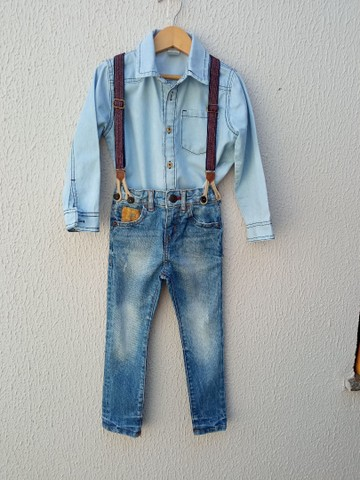 Jeans menino Tam 4