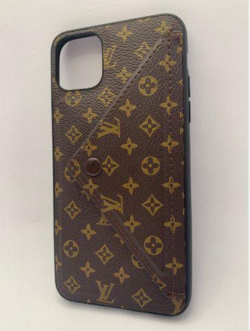 Case / Capinha estilo carteira iPhone 11 Pro Max (Aceito cartão) - Foto 4