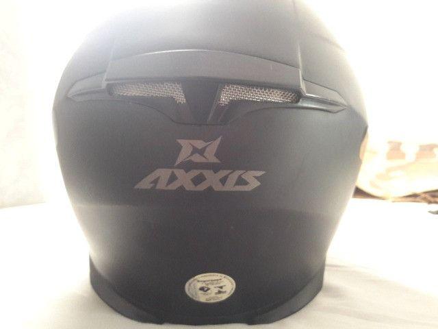 Capacete Axxis Draken Mono Fosco - Foto 3