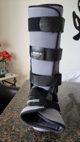 Bota ortopédica imobilizadora longa Robofoot Salvapé tamanho G
