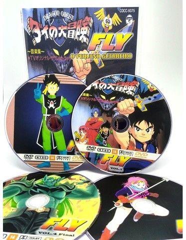 Box Dvd Fly O Pequeno Guerreiro Completo Dublado Completo - Foto 3