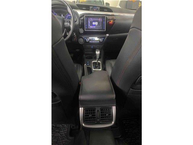 Toyota Hilux 2.7 Srv 4x2 Flex + Gnv Automático 2017!!! - Foto 12