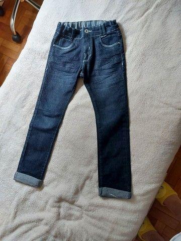 Calça jeans infantil unissex  - Foto 2