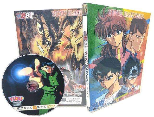 Box Dvd Yuyu Hakusho Completo Dublado + Filmes + Ovas + Extras