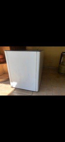 Freezer + transformador, funcionando perfeitamente!